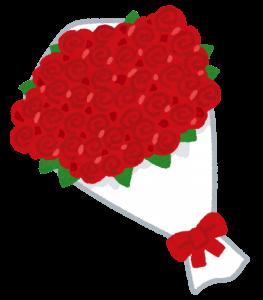 看護師の彼女へのプレゼント,花束