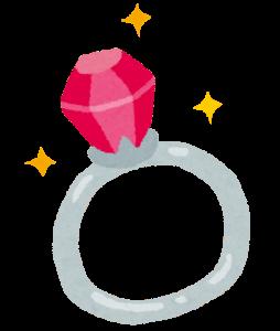 看護師の彼女へのプレゼント,指輪